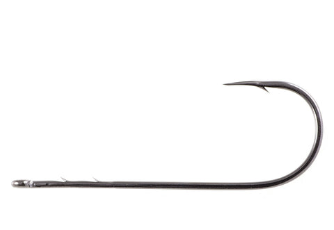 Owner Black Chrome Straight Shank 5100 - Fishing Supercenter