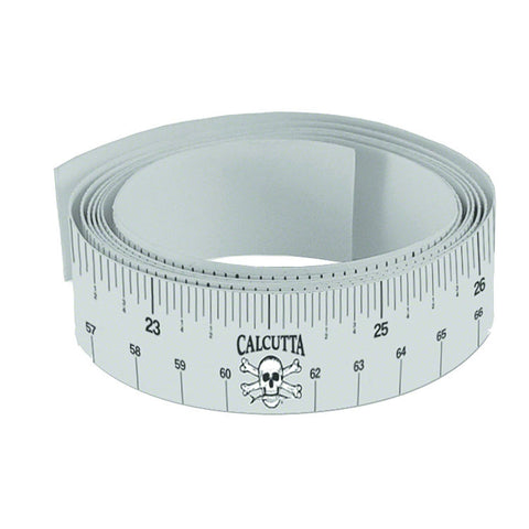 "Calcutta 48"" STICK ON FISH MEASURING TAPE - Fishing Supercenter"