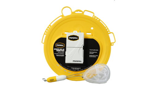 Frabill Aeration and Lid Combo Pack - Fishing Supercenter