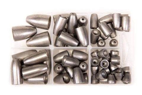 Bullet Weights Ultra Steel Weight Kit (60 pc) - Fishing Supercenter