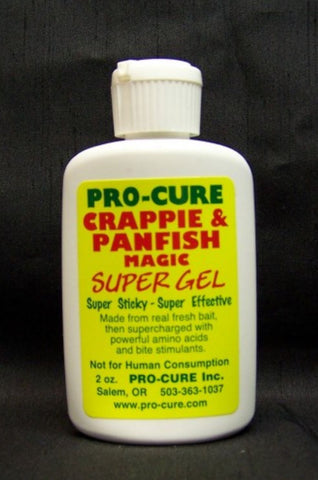 Pro-Cure Crappie & Panfish Super Gel 2 oz - Fishing Supercenter