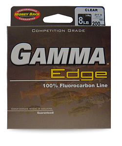 GAMMA Edge 100% Flurocarbon Line - Fishing Supercenter