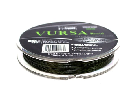 Vursa Braid 150yd (Green)