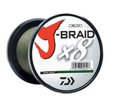 Daiwa J-Braid Braided Line - Fishing Supercenter