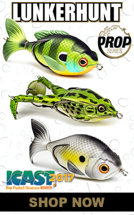 New 2017 Lunkerhunt Prop Series