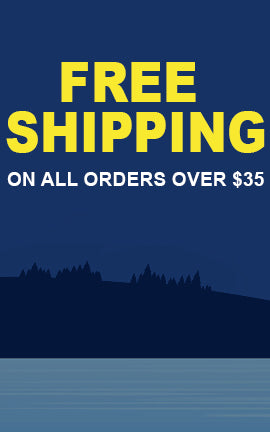 Free Shipping on all orders over $35