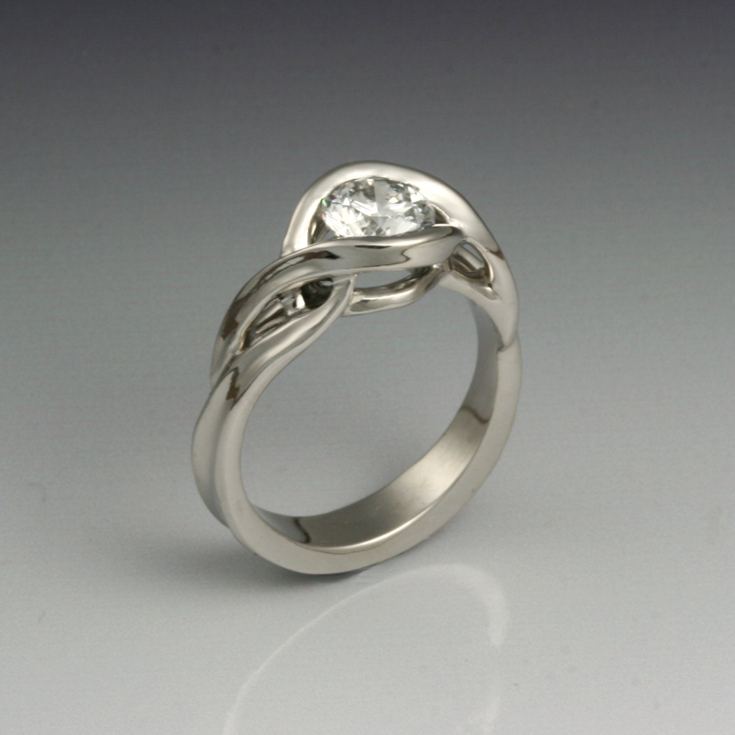 """Equinox"" Limited Edition Ring (Available in palladium with CZ, price includes setting of a new stone)"