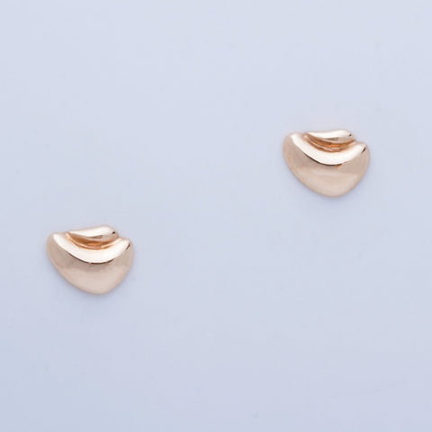 """Egg in Nest"" Post Earrings"