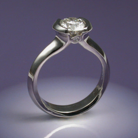 """Cleo"" Limited Edition Ring (Available with CZ, price includes setting of a new stone)"