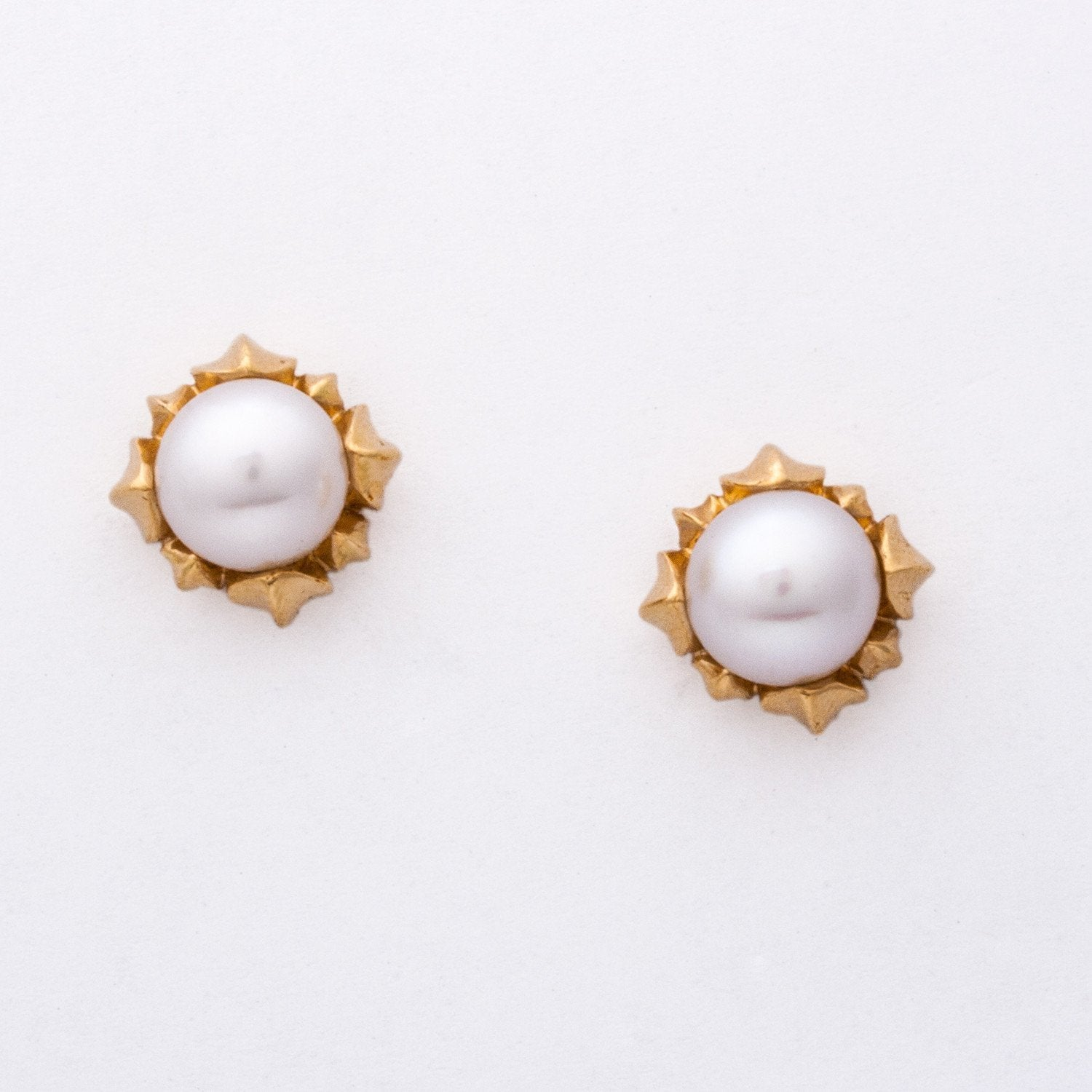 """Jennifer"" Limited Edition Pearl Earrings (Available in 18ky with white pearls; others made to order)"