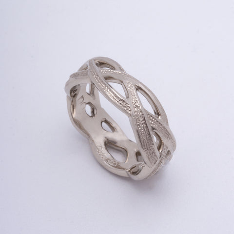 """Entwine"" Ring (Sold. Made to Order)"