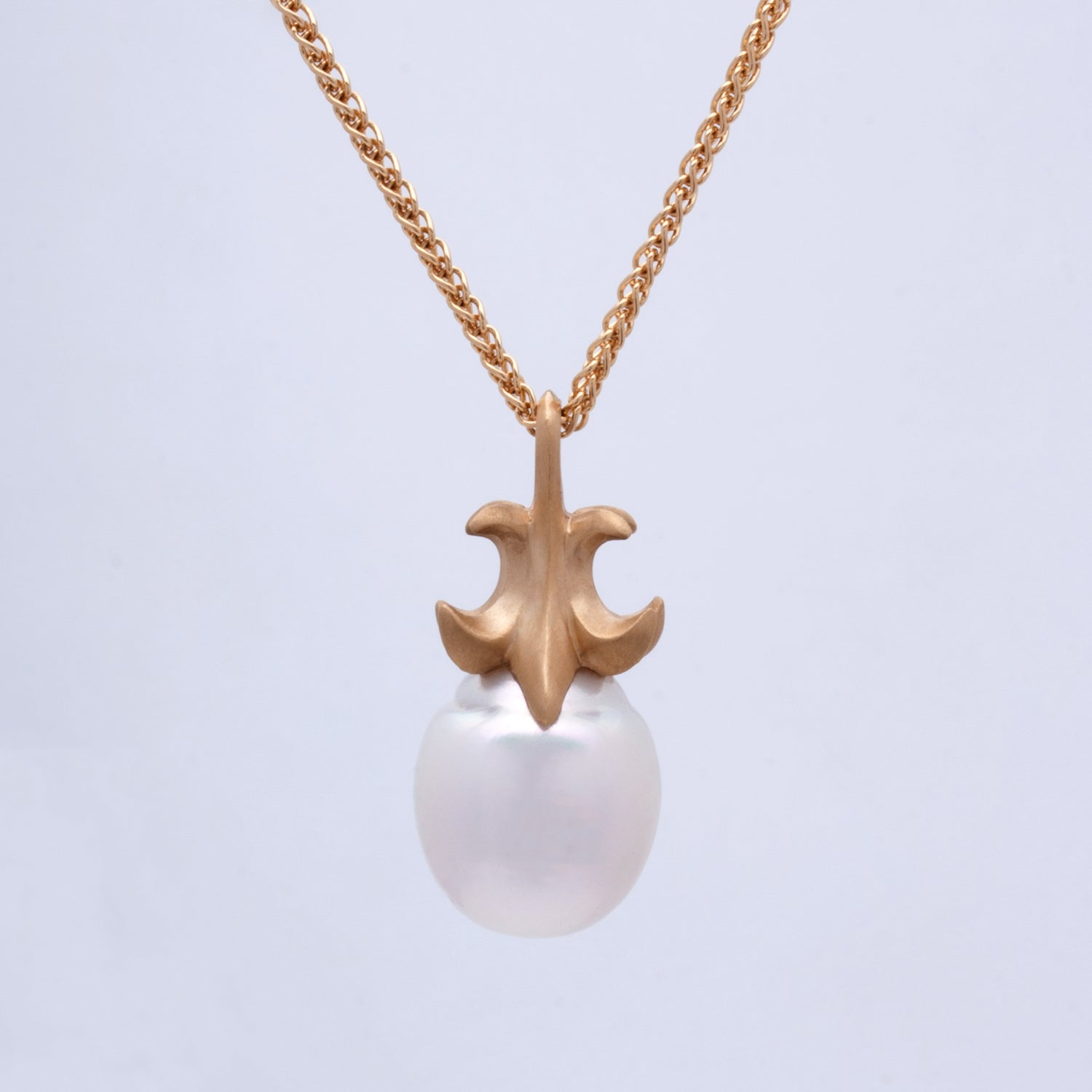 """Cheri"" Fleur de Lis Pendant (Sold. Made to Order)"