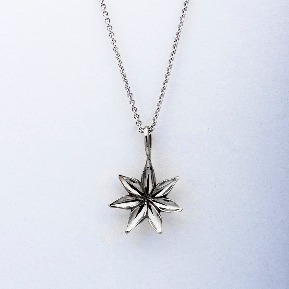 """Starflower"" Limited Edition Pendant (Sold. Made to order. Prices may vary.)"