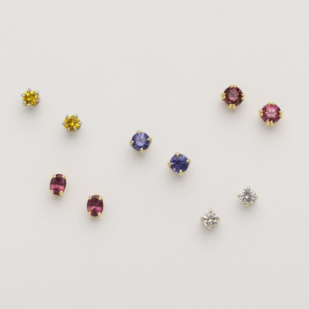 Sapphire Variety Studs (Available as pictured, others made to order)