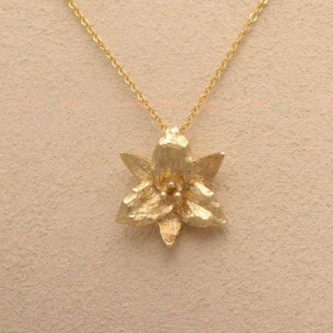 """Trillium"" Small Pendant, a new design (Available in 14ky)"