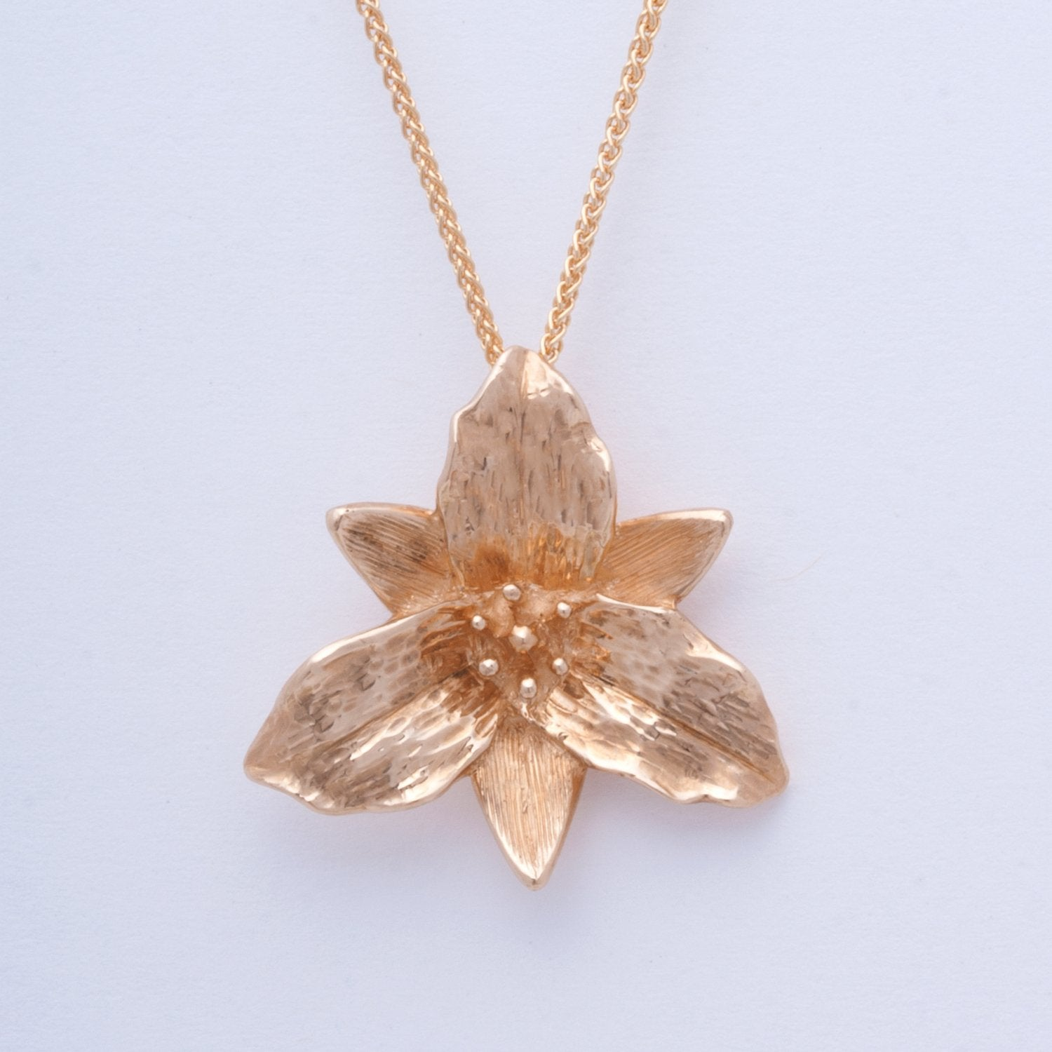 """Trillium"" Large Limited Edition Pendant (Sold. Made to Order)"
