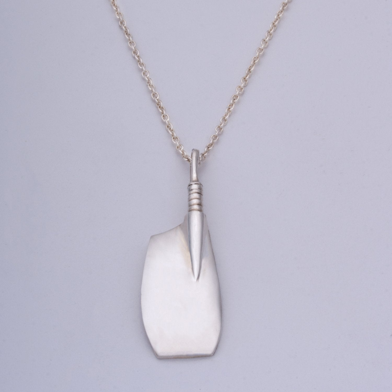 """Port Oar"" Pendant (Available in Sterling Silver, 14ky & w gold, others made to order)"