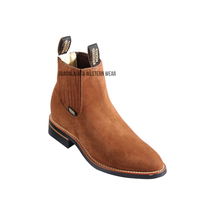 Original Michel Charro Chedron Suede Leather Boots