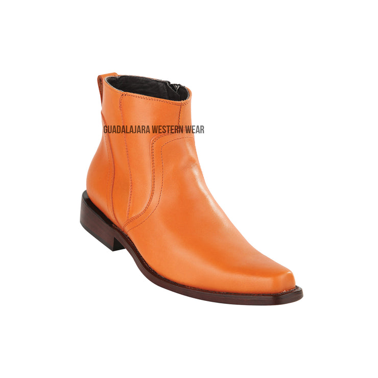Original Michel Honey Ankle Boot Leather Sole Boots