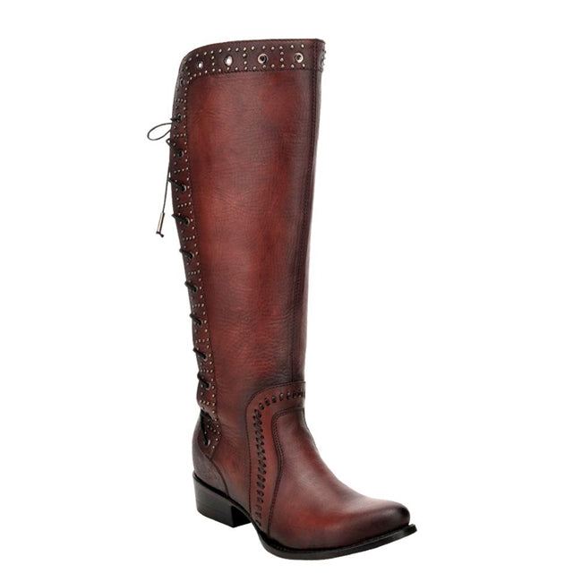 Cuadra Satro Vino Bovine Leather Tall Boot