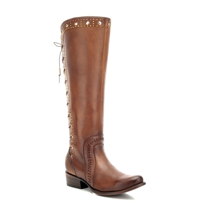 Cuadra Honey Bovine Leather Tall Boot
