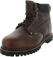 Cactus Men's 627S Steel Toe Dark Brown