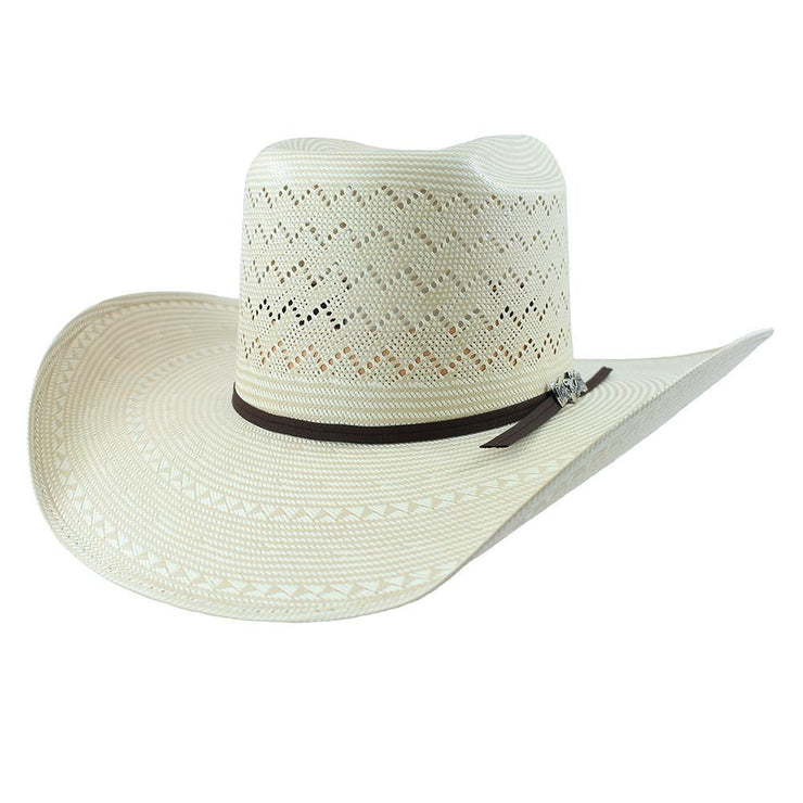 Cuernos Chuecos Full Mountain Brick Crown Cowboy Hat