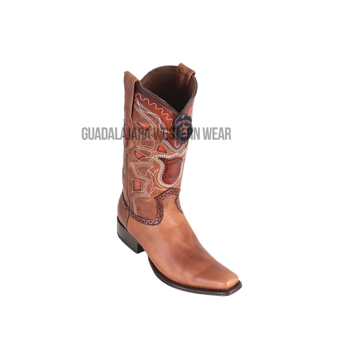 Los Altos Honey Rage European Square Toe Cowboy Boots