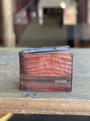Cuadra Extasis Caiman Leather Wallet