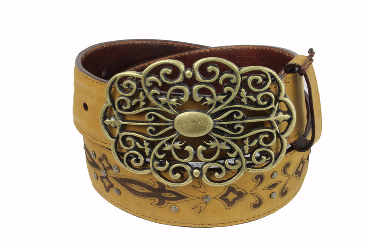 Cuadra Cowhide Leather Belt