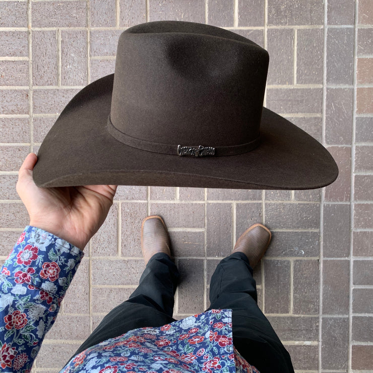 Renegado 6x Chocolate Fur Felt Cowboy Hat (EXCLUSIVE ITEM)