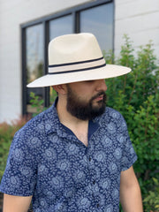 Francesco Royal Palm Straw Hat