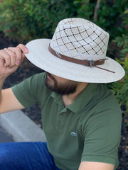 Luigi Royal Palm Straw Hat