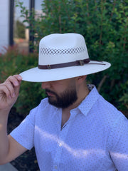 Terenzio Royal Palm Straw Hat