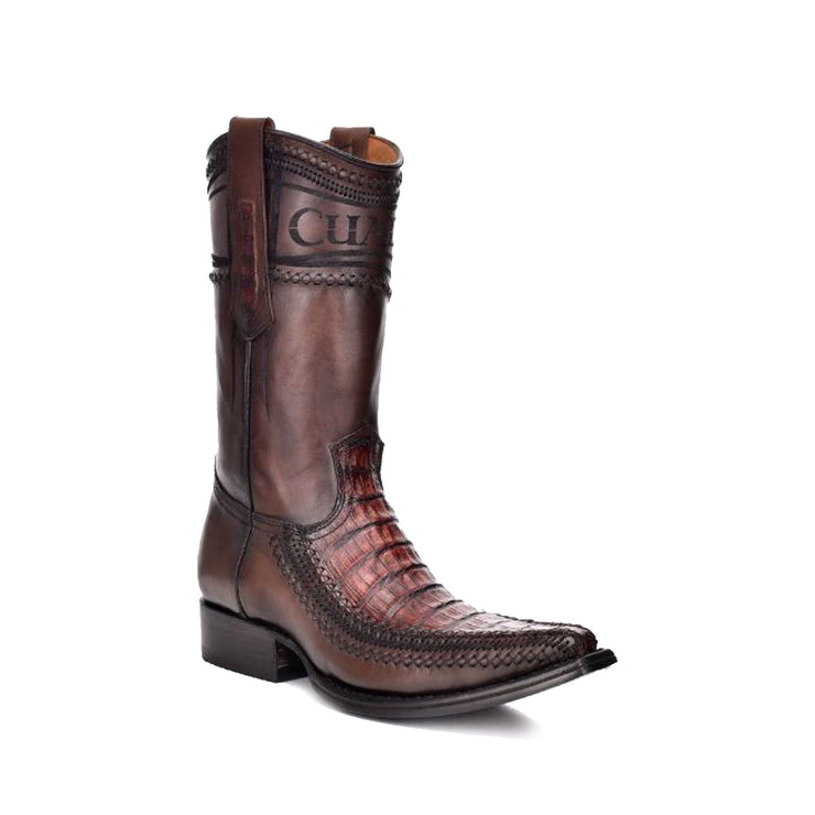 Cuadra Caiman Craft Stitched Western Boot