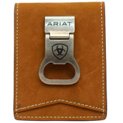 Ariat Mens Bifold Bottle Opener Money Clip