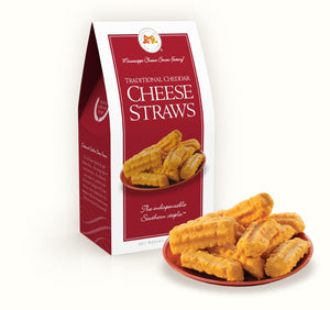 Traditional Cheddar Cheese Straws - Gabrielle's Biloxi