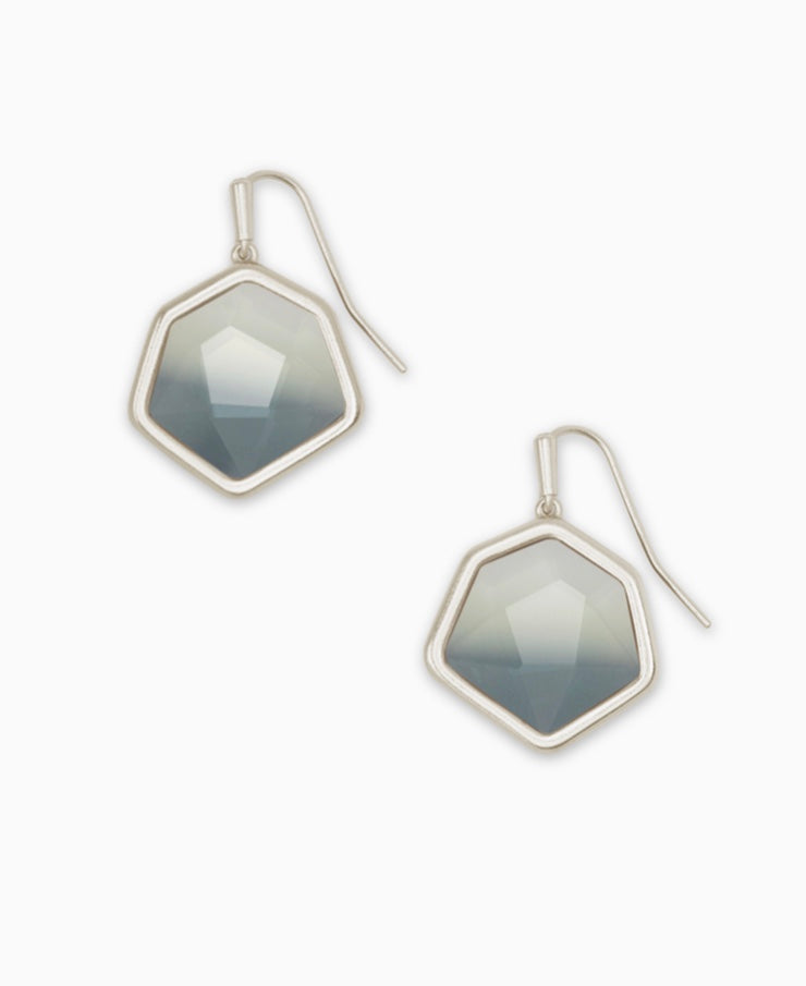 Kendra Scott Vanessa Silver Small Drop Earrings - Gabrielle's Biloxi