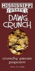 MS State Dawg Crunch Pecan Popcorn