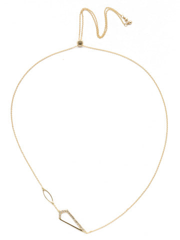 Sorrelli Rafa Pendant Bright Gold Necklace - Gabrielle's Biloxi