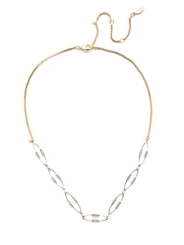 Sorrelli Illiana Elipse Tennis Necklace - Gabrielle's Biloxi
