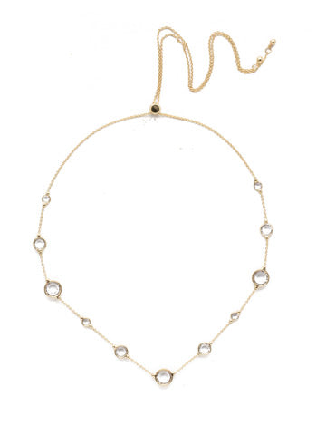 Sorrelli Inner Orbit Tennis Necklace - Gabrielle's Biloxi
