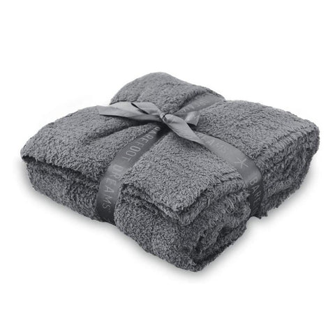 Barefoot Dreams CozyChic Throw Graphite