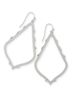 Kendra Scott Sophee Earrings Rhodium - Gabrielle's Biloxi