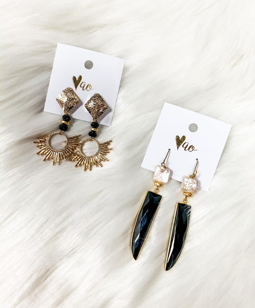 Reina Sol Earrings - Gabrielle's Biloxi