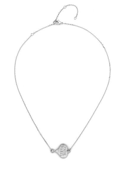 French Kande Coeur Necklace In Silver - Gabrielle's Biloxi