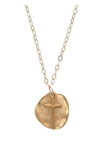 ENewton Gold Inspire Necklace - Gabrielle's Biloxi
