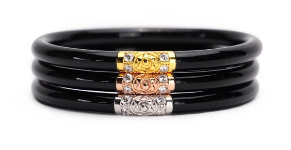 Three Kings BuDhaGirl Bangle Black - Gabrielle's Biloxi