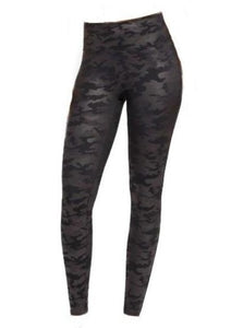 Spanx Faux Leather Camo Leggings - Gabrielle's Biloxi