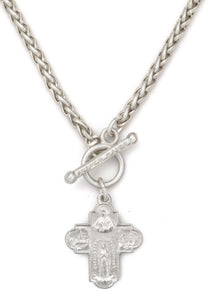 French Kande Traverser Cheval Necklace - Gabrielle's Biloxi